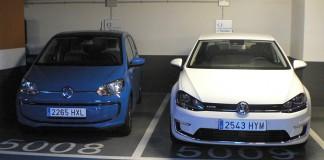 Volkswagen e-golf y e-up