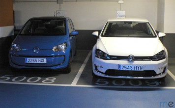 Volkswagen e-golf y e-up