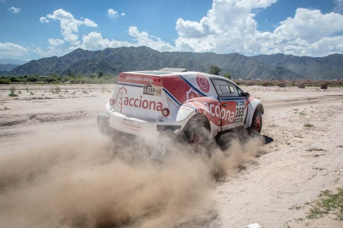 acciona EcoPowered dakar 2016