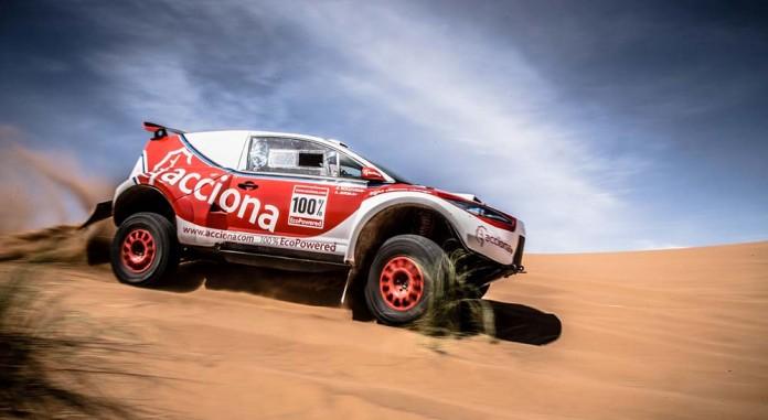 El Acciona 100% EcoPowered en el Rally de Marruecos