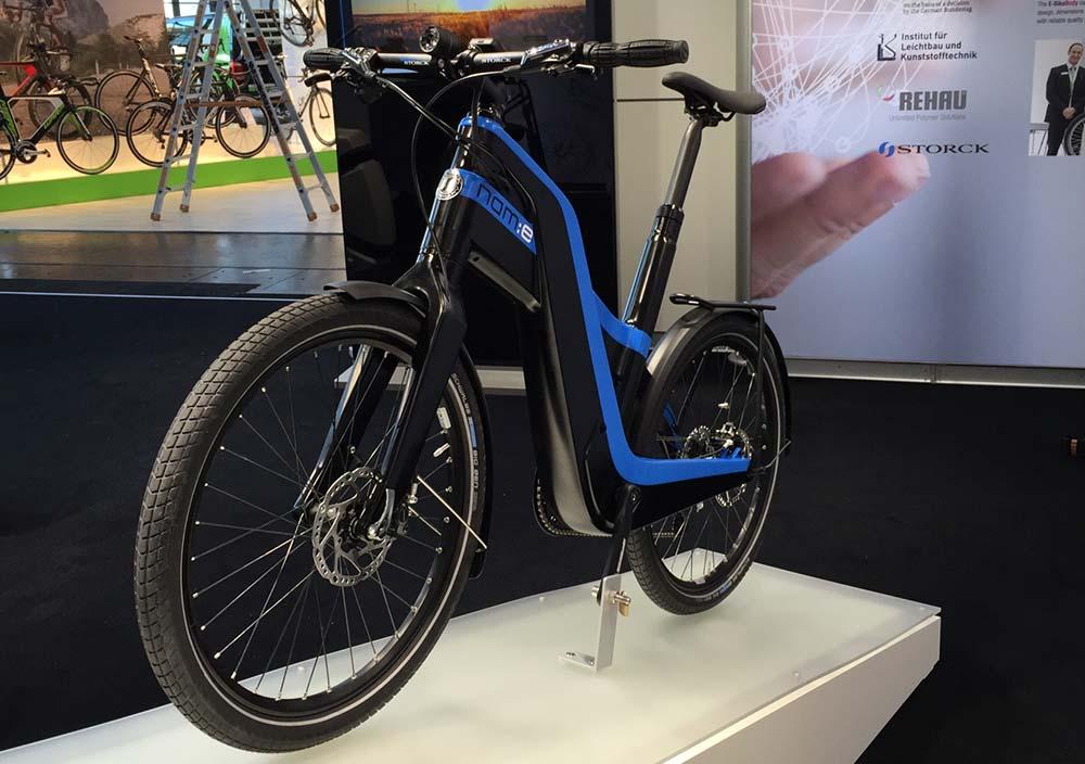 nam e de rehau bastidor de bicicleta eléctrica reciclable