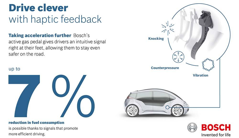 pedal activo Bosch