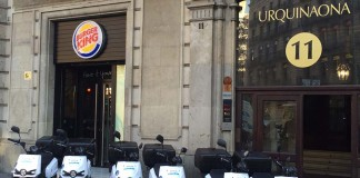 scutum so2 Burger King plaza Urquinaona de Barcelona