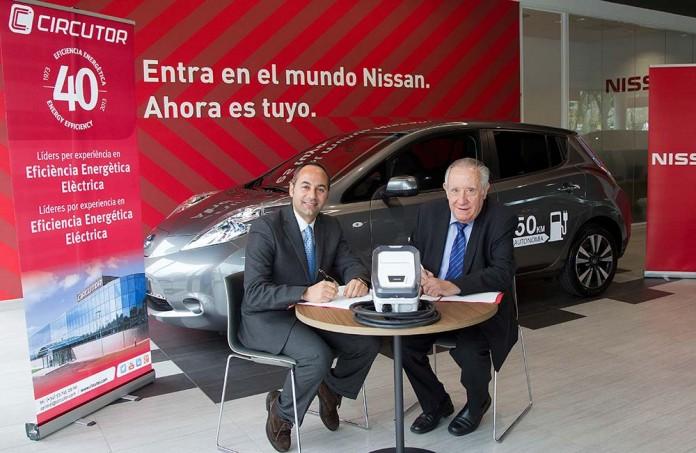 Acuerdo Nissan Circutor programa instalafácil