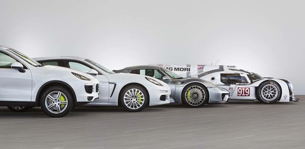 Gama híbrida enchufable de Porsche