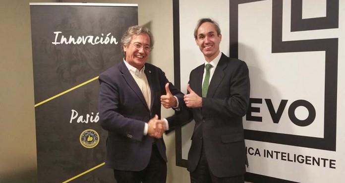 Firma del acuerdo Bultaco Evo Banco