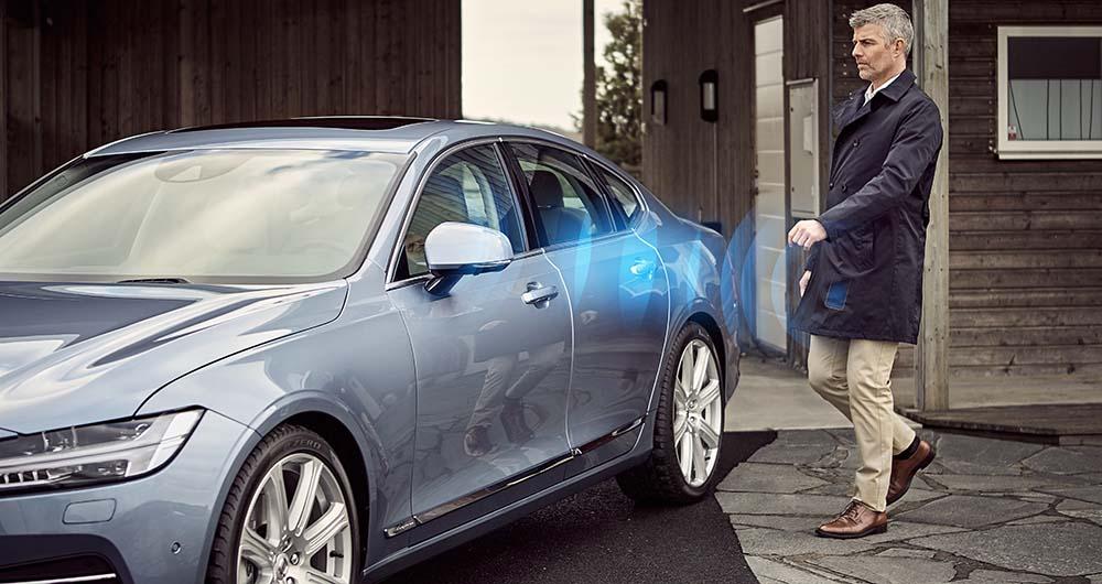 Llave digital de Volvo