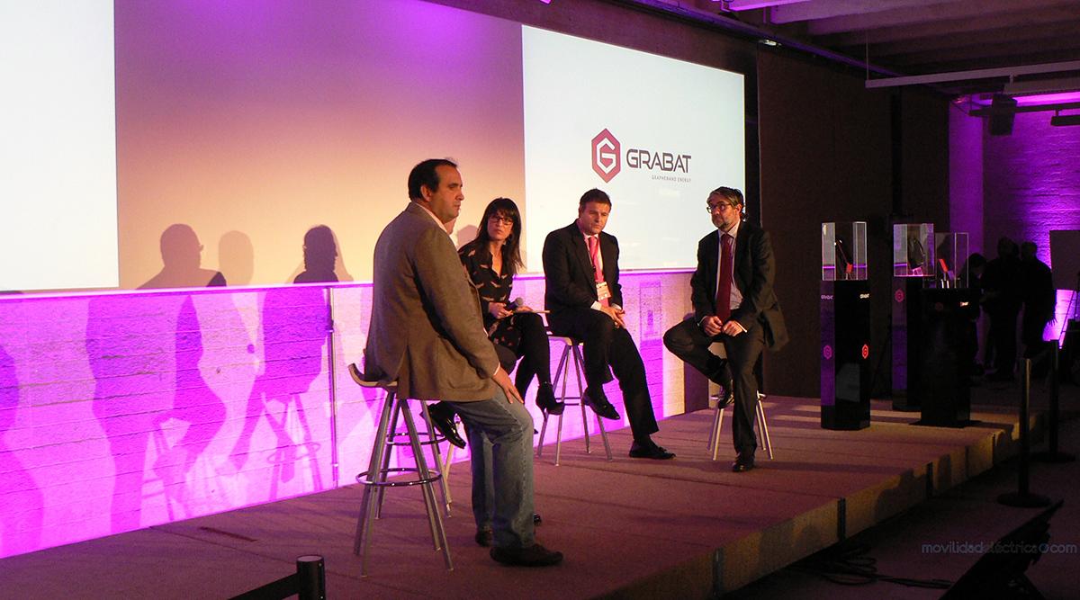 Grabat presenta sus baterías de grafeno - Movilidad Eléctrica
