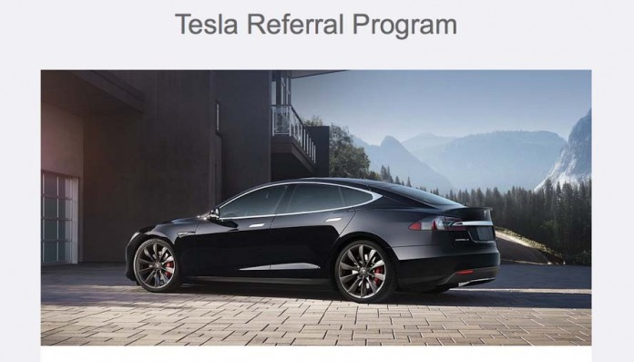Tesla Referal Program