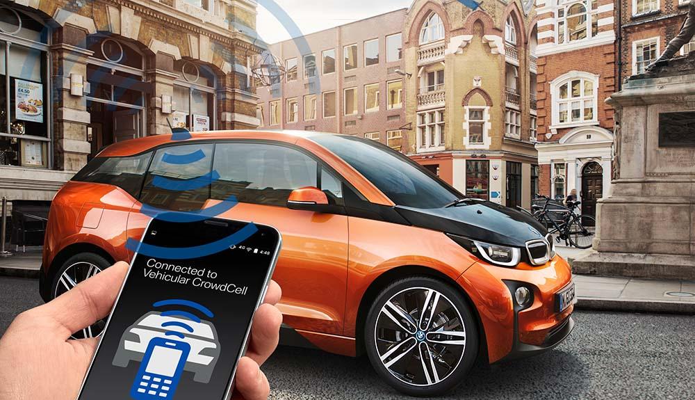 Vehicular CrowdCells de BMW