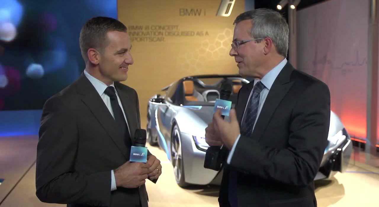 Henrik Wenders, Jefe de Producto BMW i