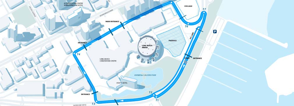 Circuito del ePrix de Long Beach