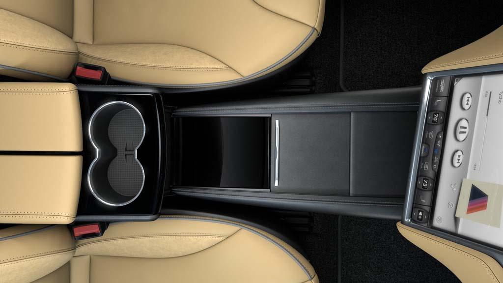 Consola central Tesla Model S