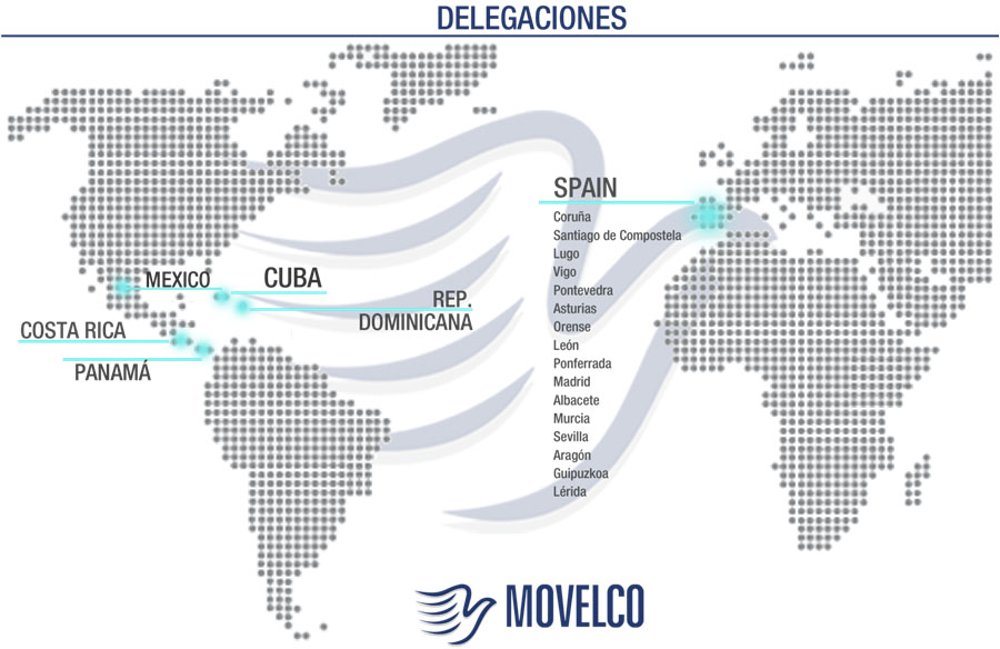 Delegaciones Movelco