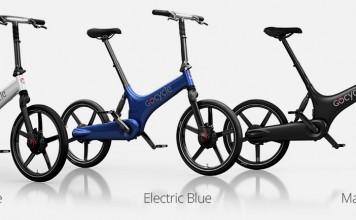 Gocycle G3 con luz diurna