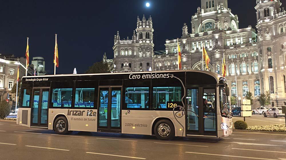 Irizar i2e en Madrid