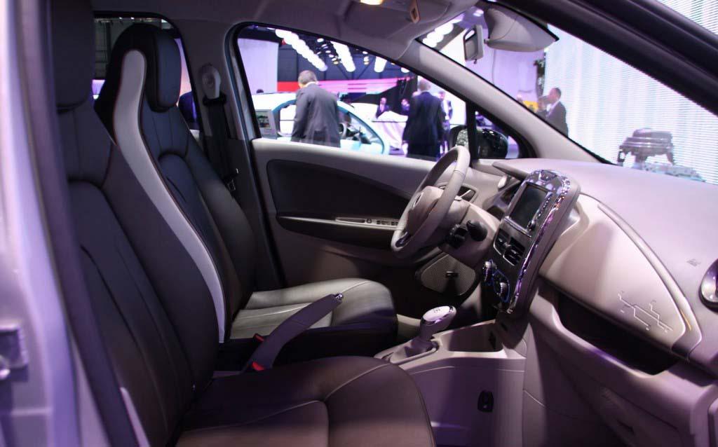 Renault Zoe Swiss Edition en el Salón de Ginebra