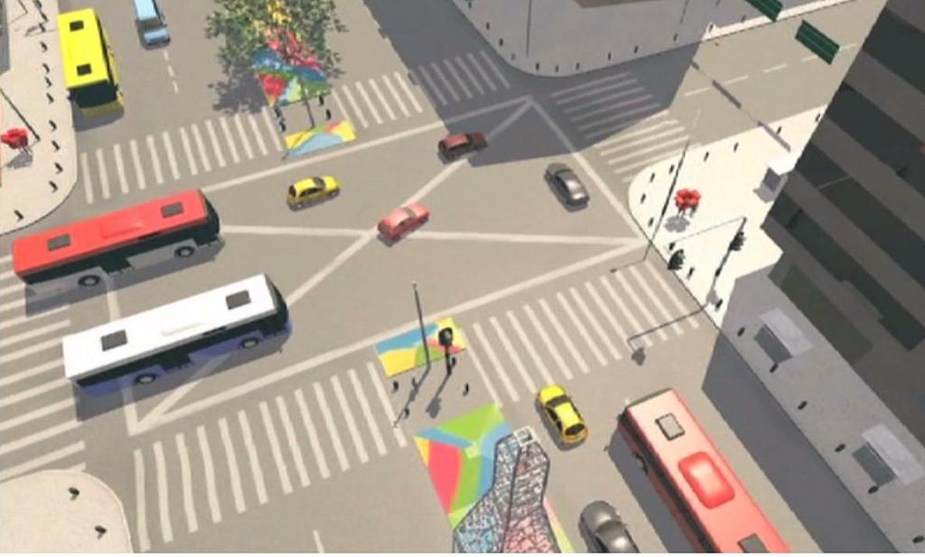 Sistema de movilidad inteligente de Medellín- vía Flickr