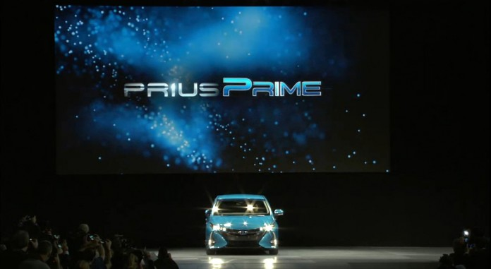 Toyota Prius Prime. Presentación en Nueva york