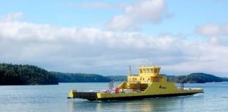 Transbordador eléctrico Siemens en Finlandia