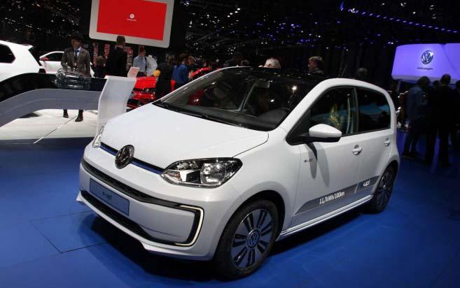 Volkswagen e-up en el Salón de Ginebra