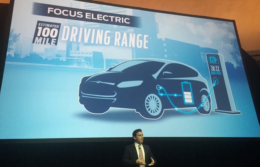 Ford Focus electric con 100 millas de autonomía