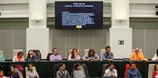 Pleno Abierto del Ayuntamiento de Madrid
