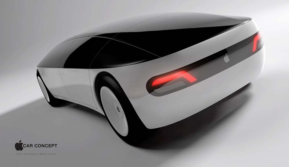 Render del Apple Car. Proyecto Titan