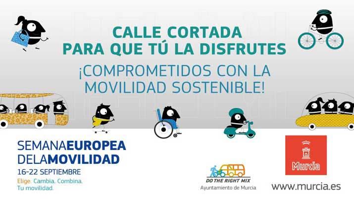 Semana europea de la movilidad - Murcia