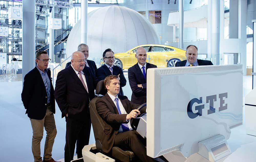 Simulador GTE de la Fábrica de cristal de Volkswagen