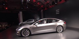 Tesla Model 3. Presentación en Los Ángeles