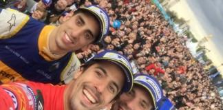 ePrix Paris - Lucas di Grassi - Jean-Eric Vergne - Sebastien Buemi