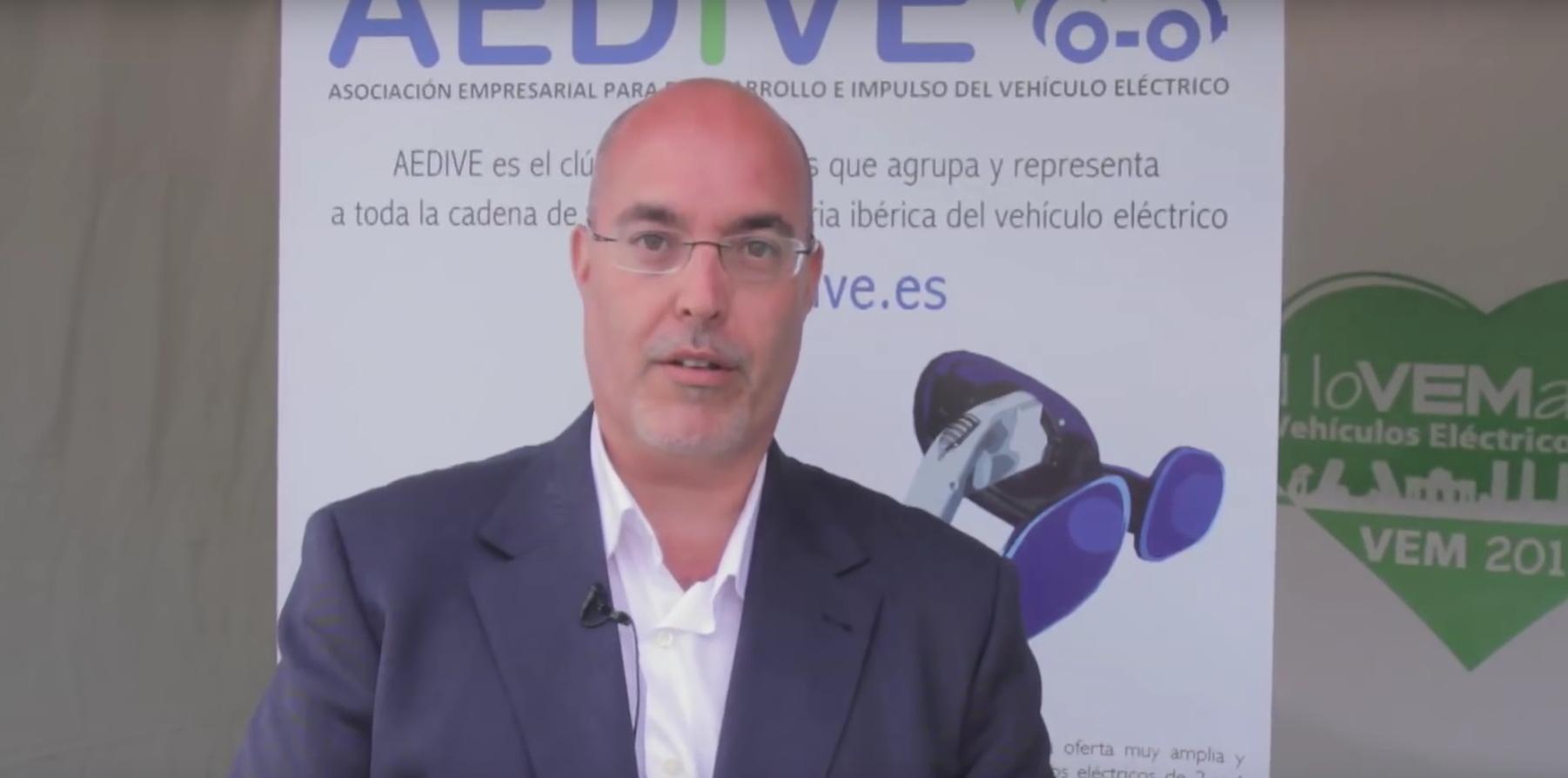 Arturo Pérez de Lucia, director gerente de AEDIVE