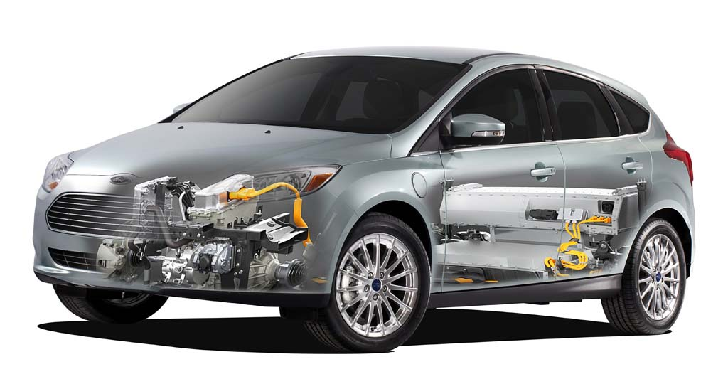 Sistema eléctrico del Ford Focus Electric