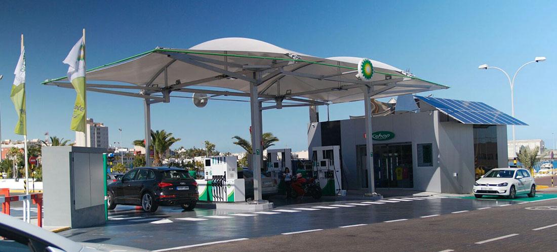 Gasolinera BP Muelle Chico
