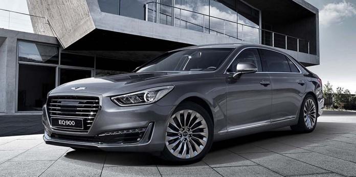 Hyundai Genesis EQ900 - 2017