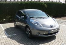 Nissan Leaf 30 kWh-vista lateral delantera
