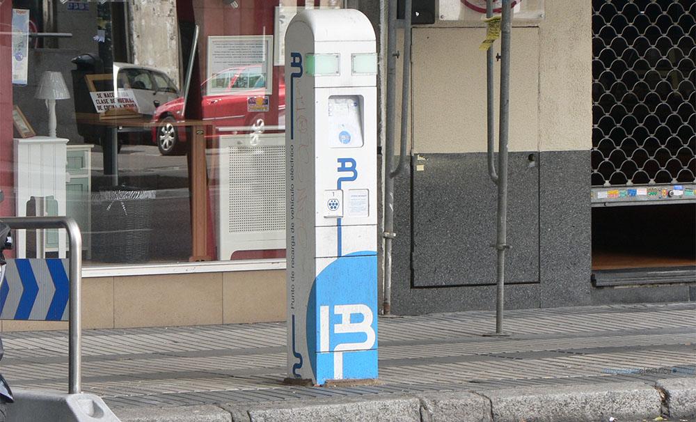 Punto de recarga de Ibil en Madrid
