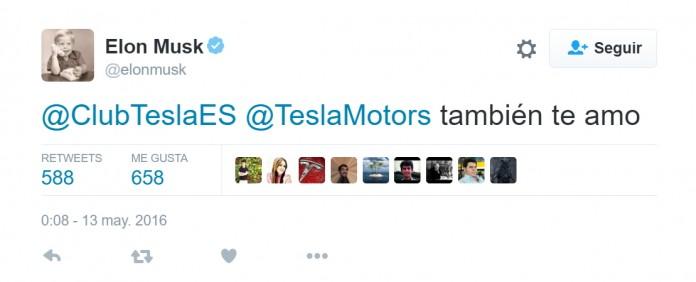 Tweet de Elon Musk: