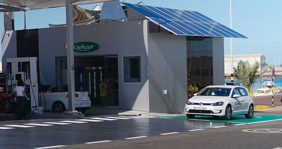 fotolinera de Fuerteventura situada en la gasolinera BP Muelle Chico