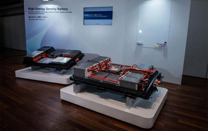 Baterías de Nissan de 30 y 60 kWh en la EVS29