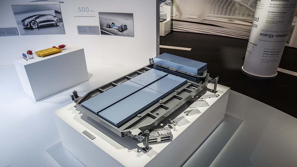 Baterias de litio y de post-litio situadas en los bajos de la nueva plataforma eléctrica
