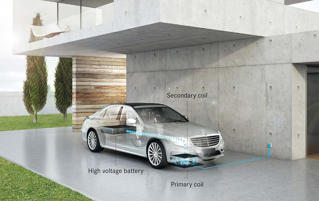 Carga por inducción de Mercedes-Benz