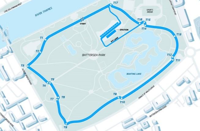 Circuito de los dos ePrix de Londres