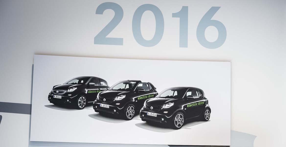 Gama Smart eléctrica de 2016
