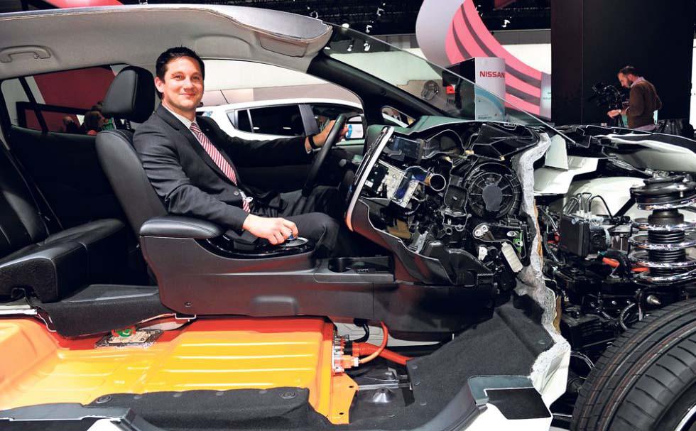 Gareth Dunsmore director de la división cero emisiones de Nissan
