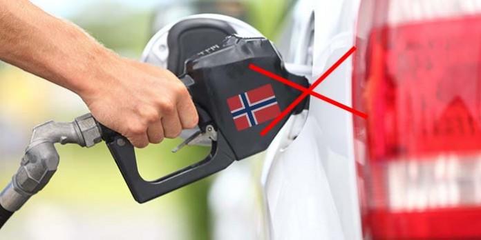 Prohibir los coches diesel y gasolina en Noruega.