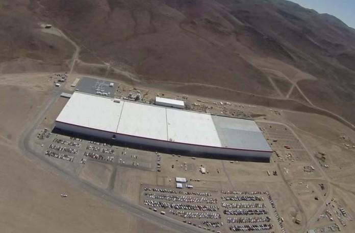 Gigafactoría de Tesla en Nevada