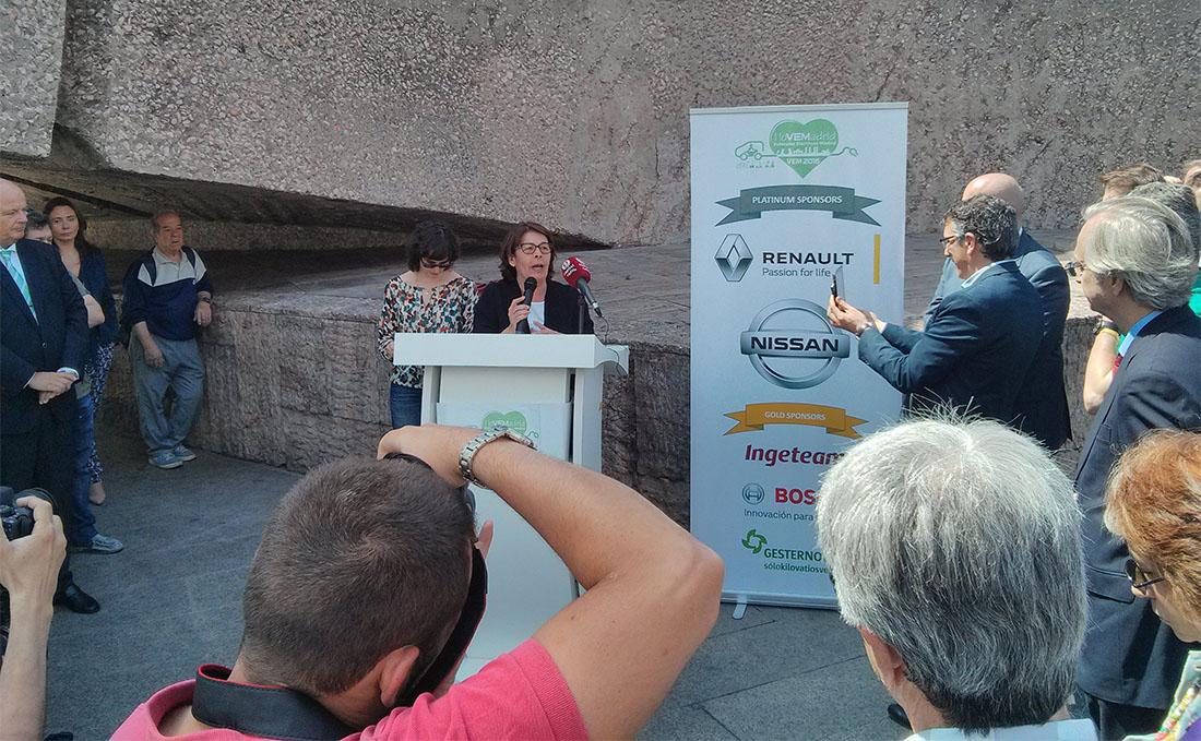 Inés Sabanes y Mercè Vidal en VEM 2016