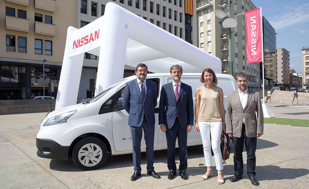 Inauguración del Zero Emission Tour 2016 de Nissan